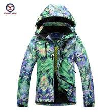 Зимние мужские Последняя Мода красочная печать хлопчатобумажное пальто ветрозащитный водонепроницаемый тепловой хлопок наполнитель куртка брюки повседневный комплект 9689