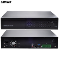 GADINAN 32CH 1080P 16CH 4MP 8CH 5MP H 265 NVR Network IP System Support 8 HDD