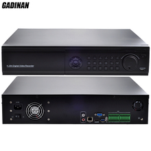 GADINAN 32CH 1080P/16CH 4MP/8CH 5MP H.265 NVR Network IP System Support 8 HDD Ports P2P ONVIF Cloud CCTV NVR Max 4K Output