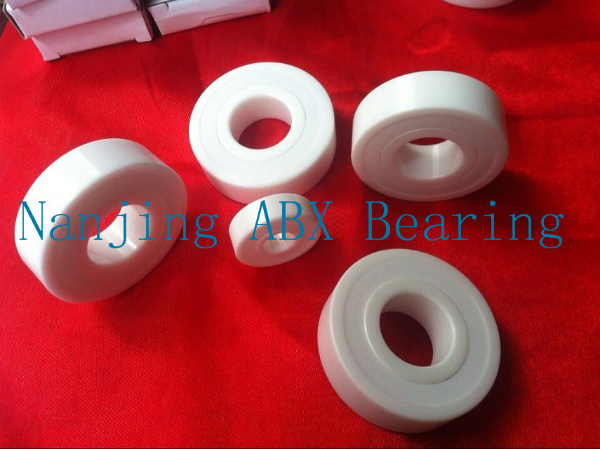 6802-2RS full ZrO2 ceramic deep groove ball bearing 15x24x5mm in good quality 6906 61906 full zro2 ceramic deep groove ball bearing 30x47x9mm good quality