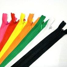 HL 2pcs 50CM 3# Invisible Close-End Nylon Zippers Bags Garment Home Textile Sewing Accessories