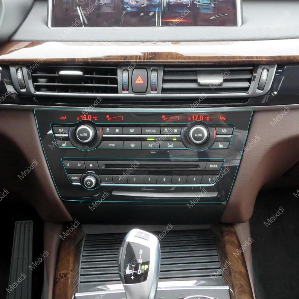 Car interior central control panel kit invisible - Automotive interior protective film ...