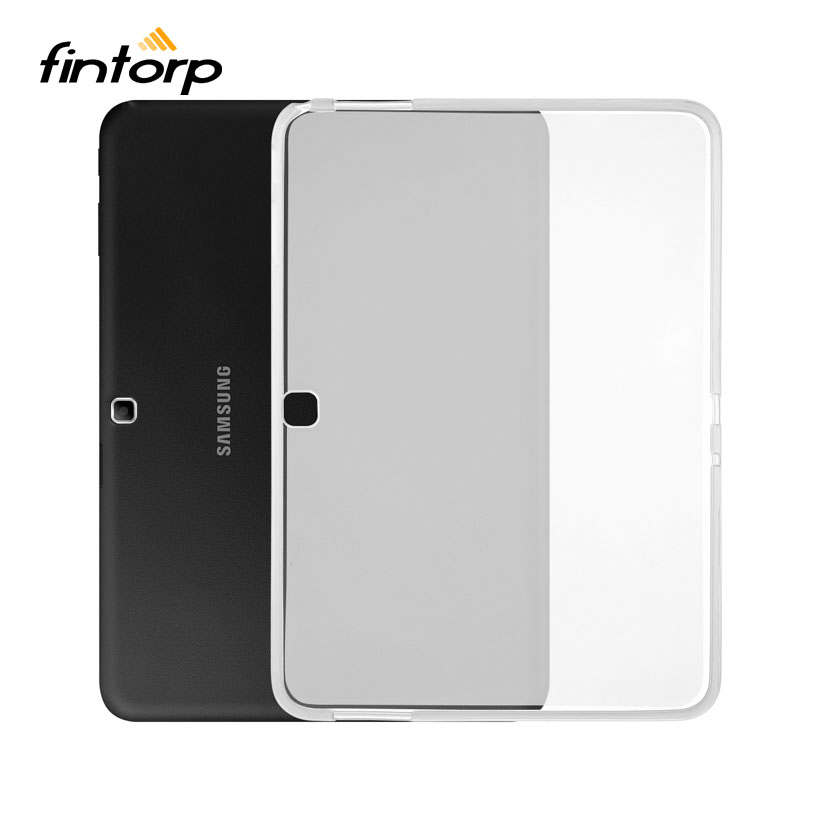Ultra-thin Transparent Clear Case For Samsung Galaxy Tab <font><b>4</b></font> <font><b>10.1</b></font> LTE SM T530 T531 T535 T533 <font><b>10.1</b></font> inch Soft TPU Waterproof Covers image