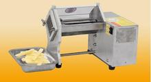 Electric potato cutting strips machine
