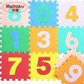 """Meitoku ребенка пены EVA игра-Головоломка мат/Номер 0-9 Блокировка коврик, Каждый 30 см Х 30 см Х 1 СМ = 12 """"X 12"""" X3/8"""""""
