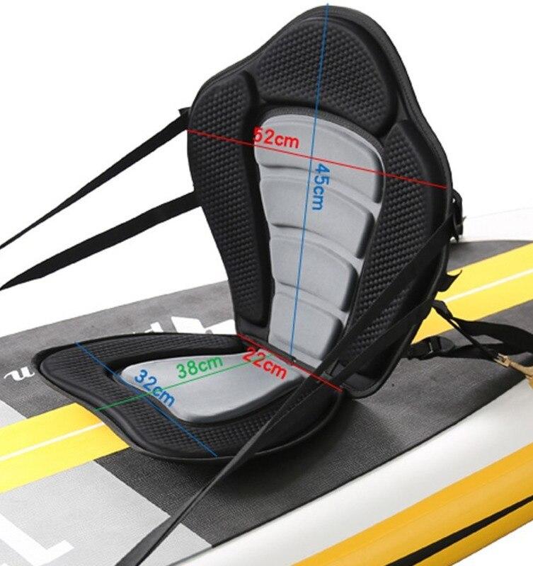 Siège de bateau à rames réglable bateau à rames sièges de Base rembourrés souples et antidérapants coussin de Kayak de luxe avec dossier D90602