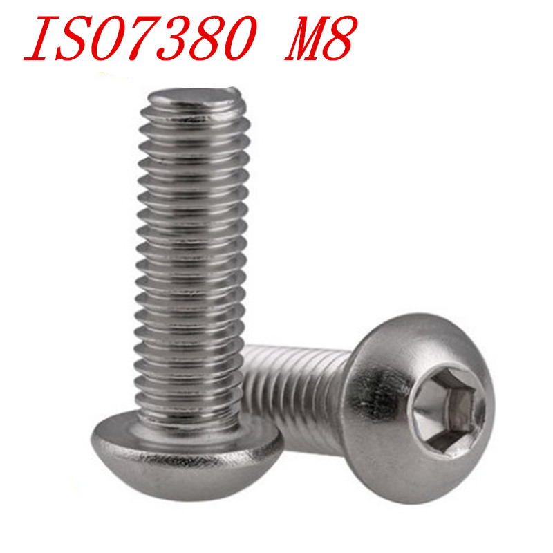 Metric Stainless Steel Allen Socket Head Cap Bolts Screws A2 18-8 304 Assortment M6 M8 M10 M12-306PCS BoltsandNuts
