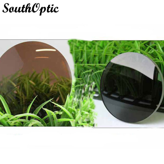 1.56 Men Women Myopic Polarized Lenses Brown Grey Green Driving Fishing Outdoors With Free Lens Cut and Frame Fitting Service