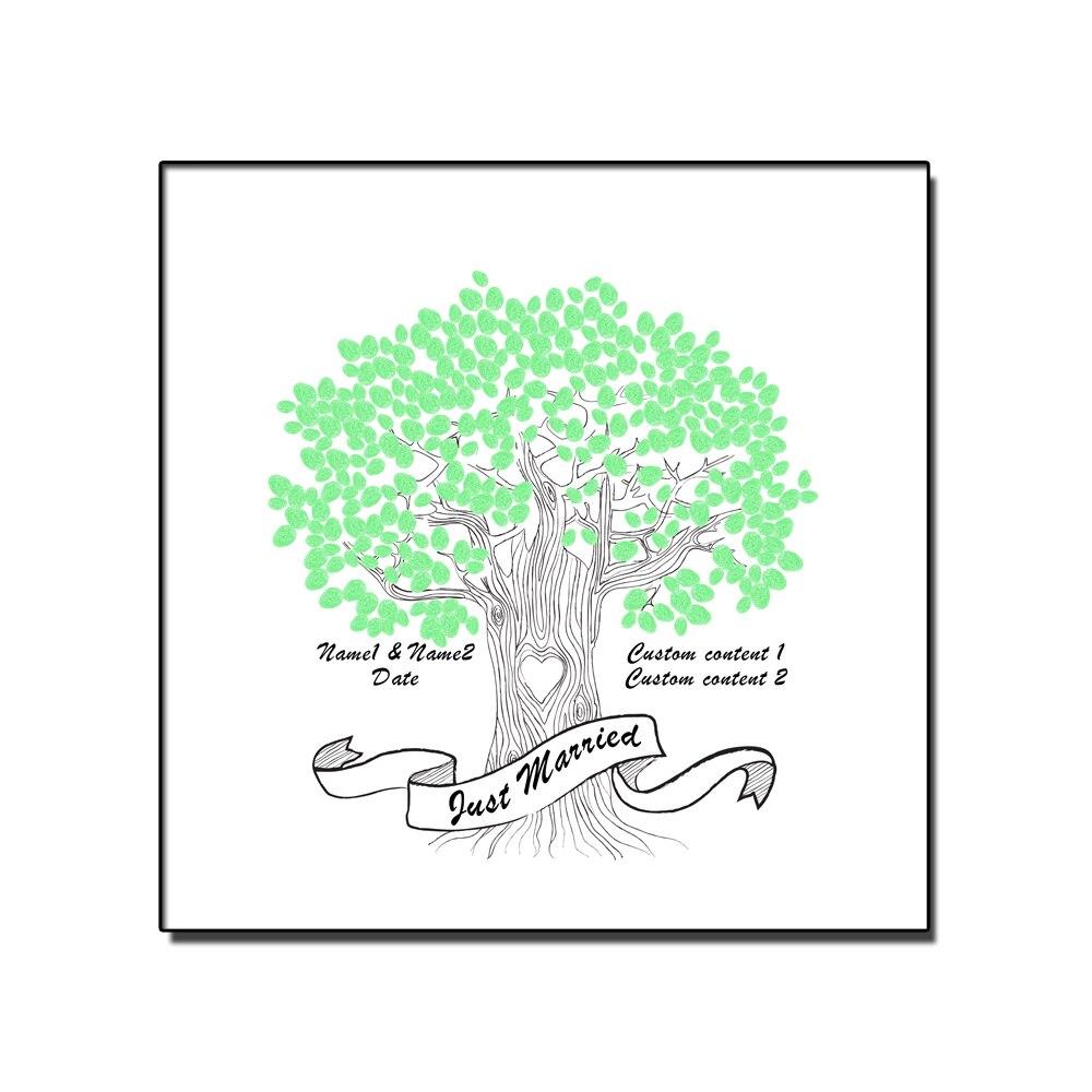ヾ ノcanvas prints custom name date creative fingerprint