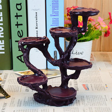 Creative Artificial Rosewood Showing Stand Display Rack Resin Art Work Decoration