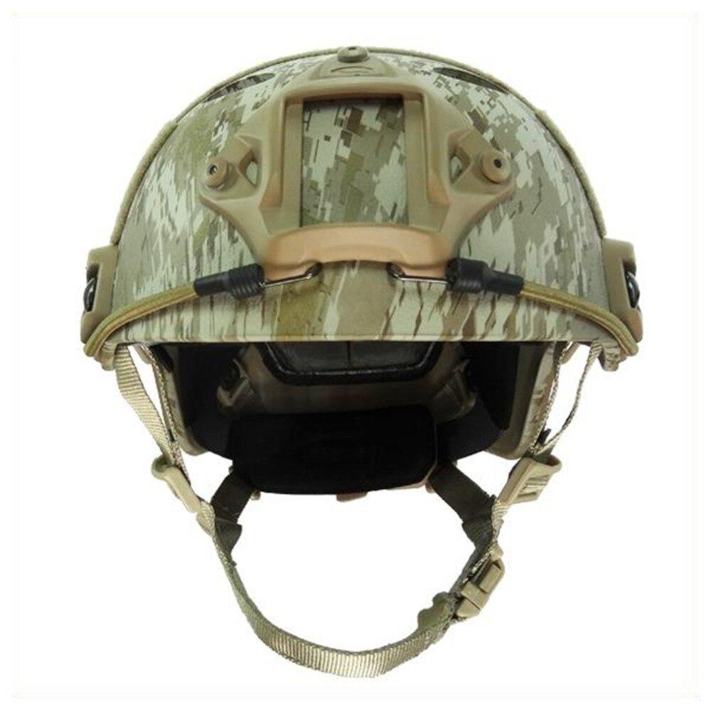 US $55 0 |us army helmet Airsoft paintball enhanced combat FAST PJ AOR1  Standard version Helmet military Tactics helmet Climbing helmet-in Helmets