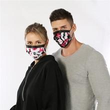 50 шт. / Упак. Мода хирургическая маска хлопок тушь для ресниц бока нариз одноразовые маски для