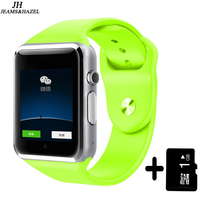 Livraison Gratuite A1 Montre-Bracelet Bluetooth Montre Smart Watch Sport Podomètre avec SIM Caméra Smartwatch Pour Android Smartphone Russie T15