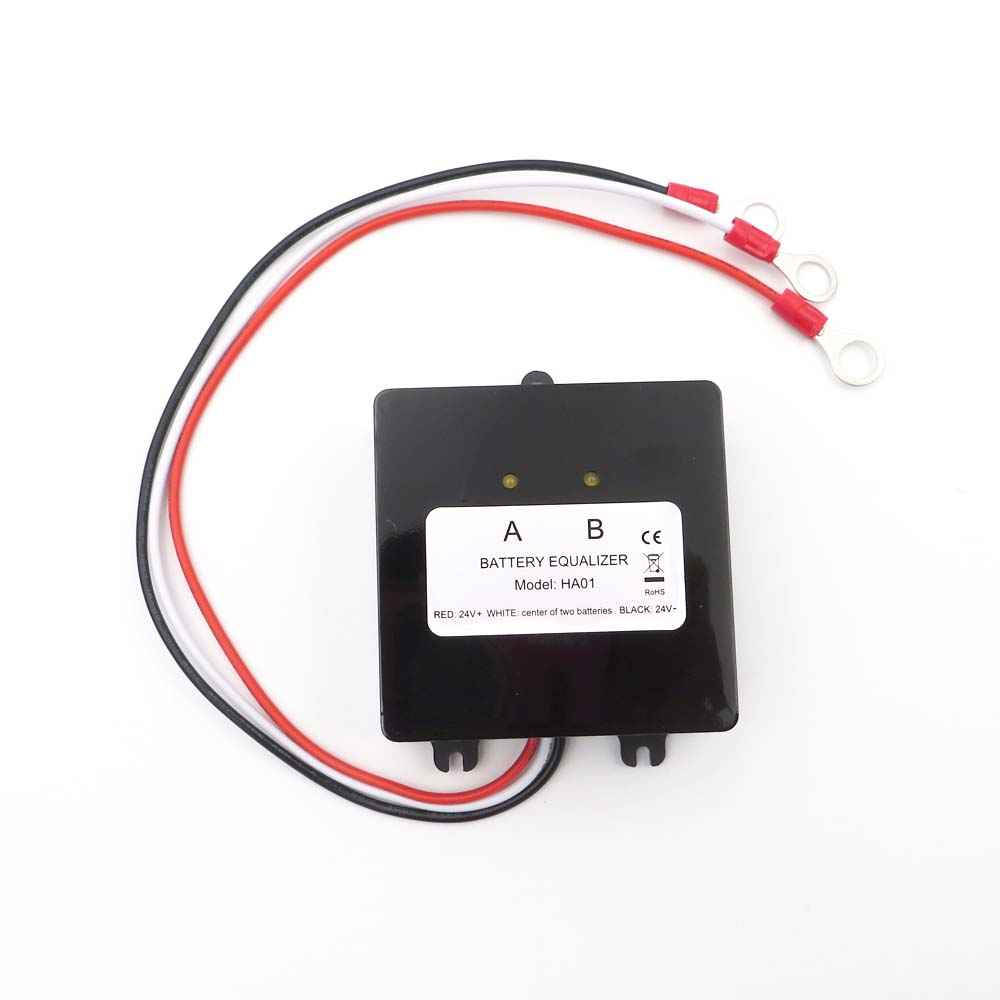 HA01 <font><b>HA02</b></font> 3.2V 3.7V 12V 24V 36V 48V Solar System Battery Equalizer Battery Balancer Charger Controller Lead Acid Battery Bank image