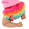 20167 Baby Cotton Briefs Bloomers With Lace Ruffle Cute Toddler PP Pants Infant Girls Shorts Newborn Children Diaper Cover P301