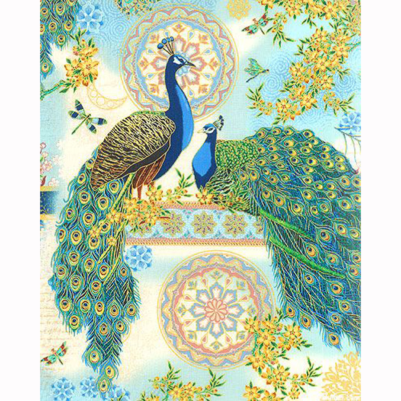 Diamond Embroidery Peacock Pattern DIY 5D Painting Needlework Cross Stitch Full Drill Rhinestones In From