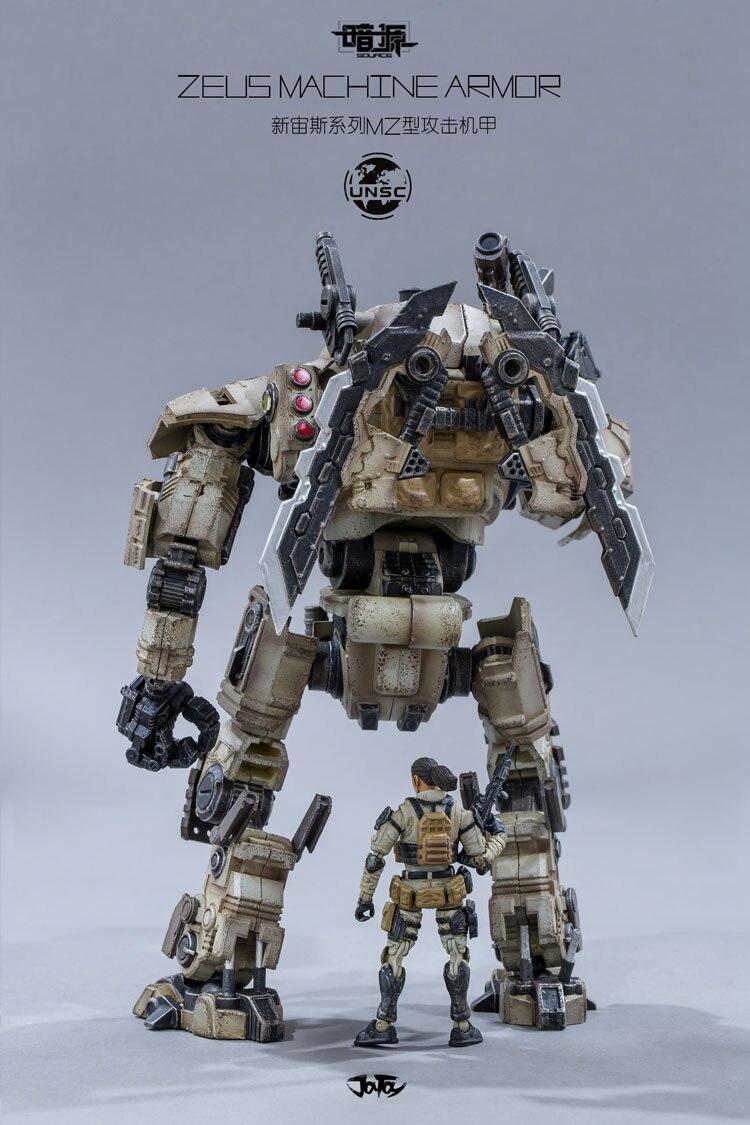 JOY TOY 1: 25 soldats figurine robot mecha ZEUS armure de MACHINE livraison gratuite RD027 en Stock-in Jeux d'action et figurines from Jeux et loisirs    2