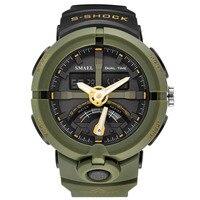 SMAEL Fashion Sport Watch Men Top Brand Luxury Famous Waterproof LED Digital Wrist Watch Male Clock