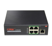 5-Port 10/100M Standard PoE Switch Port 1 – 4 support PoE function with max power for each port is 15.4W