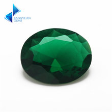Стеклянный светильник овальной формы зеленого цвета 2x3 ~ 13х18