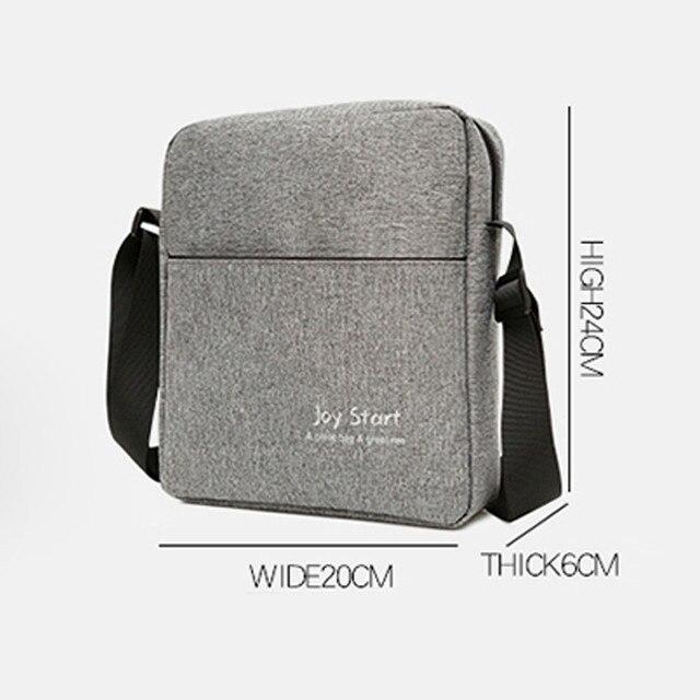 High Quality Men Crossbody Bag Pack Multifunctional Bag Shoulder Messenger Bag Handbag 4