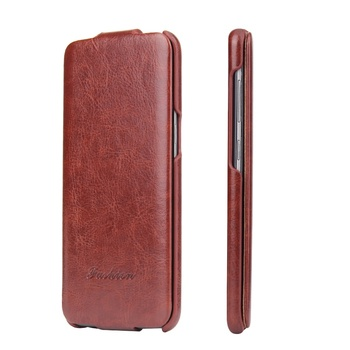 Fashion Vertical Flip Slip Leather Cover Case for Samsung Galaxy S7 Edge S8 Plus S9 Note 8 Simplicity High Quality Luxury Coque