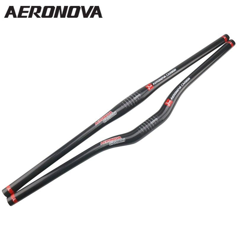 Ultralight Carbon Handlebar MTB Mountain Rise Bar 31.8mm Road Handle Bar Glossy