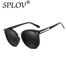 Nuevo Retro gafas de Sol Polarizadas Revestimiento De Vidrio de Flecha de Las Mujeres Diseñador de la Marca de La Vendimia Gafas de Sol Mujer Gafas De Sol Gafas Feminino
