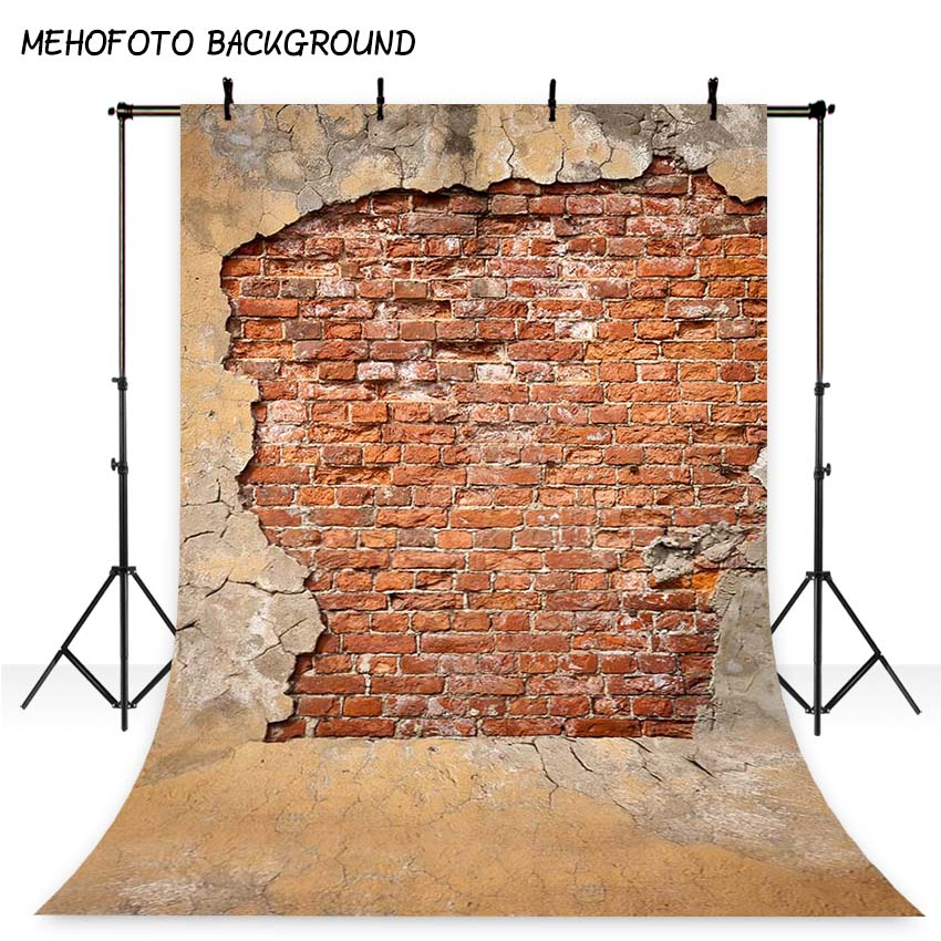 5x7ft Vintage Brick Wall  Photography Backdrops Children Photo Background for Photo studio S-2031 shengyongbao 300cm 200cm vinyl custom photography backdrops brick wall theme photo studio props photography background brw 12