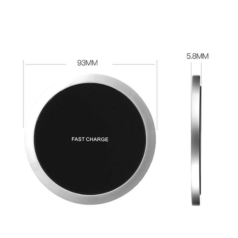 Suntaiho QI Wireless Charger mate 20 pro Zinc alloy metal quality for iPhone XS MAX fuselage Fast Charging Galaxy S8 S9 Plus
