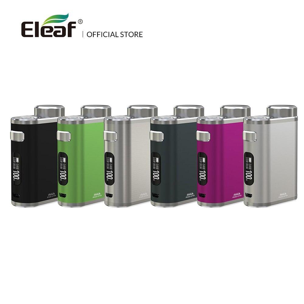Boîte d'origine Eleaf iStick Pico 21700 Mod No 18650/21700 TC boîte Mod W/0.91 pouces grand écran cigarette électronique