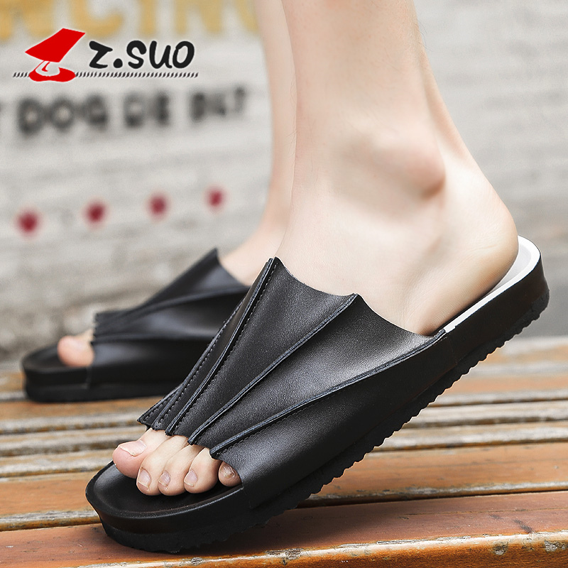 2017 Men s most popular slippers male trend of the world outdoor sandals free shipping