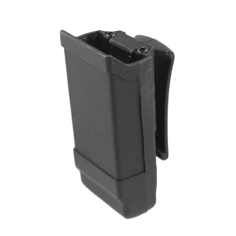 Tactical Polymer magazine pouch single magzine case single stack for 9mm/.40 cal/.45 cal ...