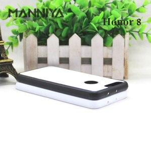 Image 5 - MANNIYA pour Huawei Honor 30 20 boîtier en caoutchouc Sublimation blanc avec Inserts en aluminium 10 pièces/lot