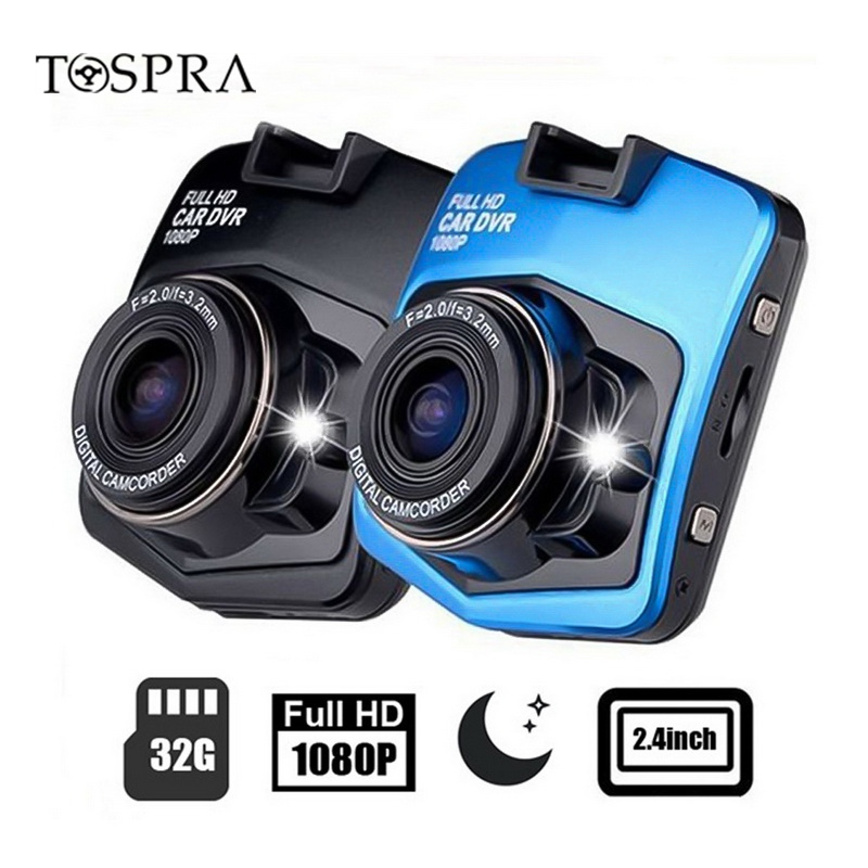 2019 Car Record Camera Mini Car DVR Camera Dashcam Full HD 1080P Video Registrator Recorder G-sensor Night Vision Dash Cam