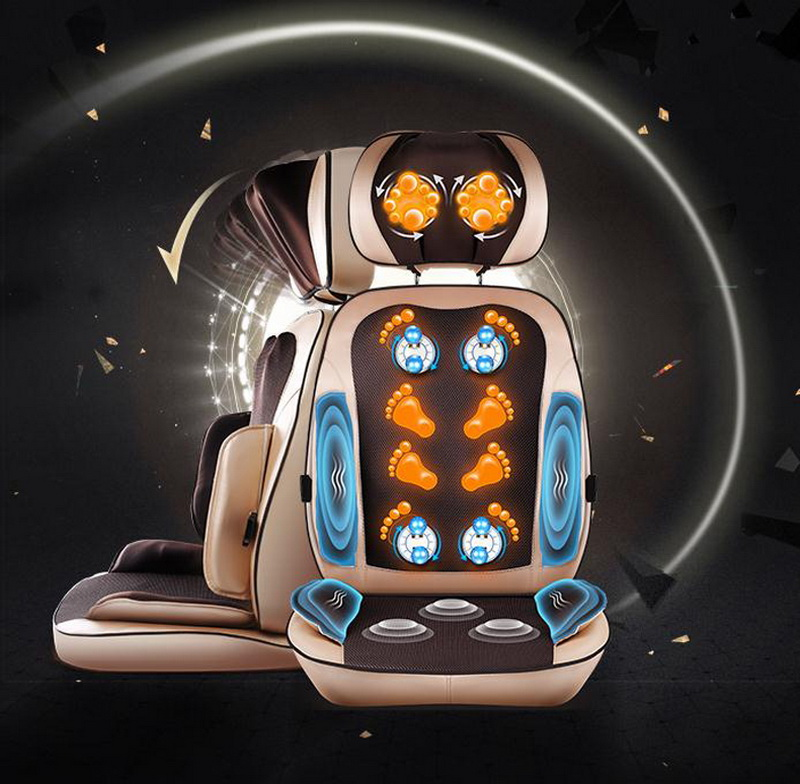B15/massage device full body electric cheap massage chair sofa relax Muscle cushion with heating & buttocks roller massager mat  hot sale update anti stress electric roller vibration shiatsu neck back body massage cushion chair device m040
