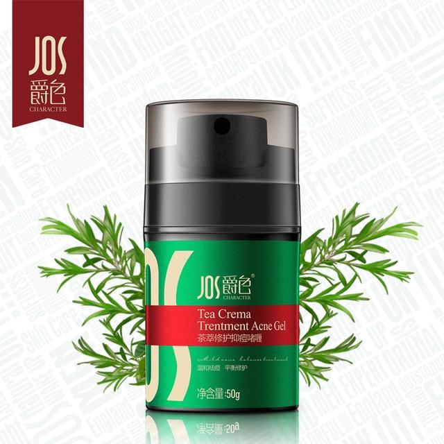 JOS Men face care removal acne scar gels Acne treatment Spots skin care whitening face cream moisturizing Skin care 50g