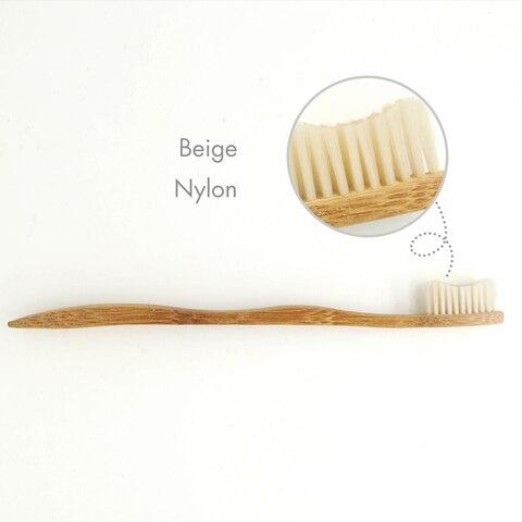 o servico do oem logo impressos personalizados quantidade minima 100 pecas de bambu escova de