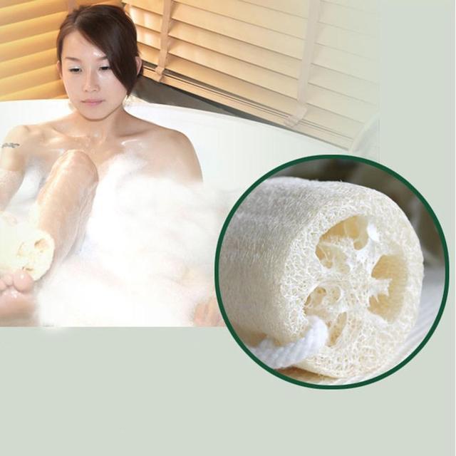 Natural Loofah Bath Sponge Body Scrub Exfoliation SPA Beauty Bath Sponge 1