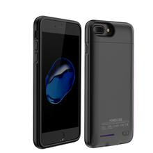 For iPhone 6 6s 7 External Battery Charger Case 3000mAh Smart Phone Backup Bateria Power Bank Battery Charging Case Cover