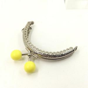Image 5 - Sac à tête de bonbons, cadre de 30 pièces/20 pièces/10 pièces 8.5CM, fermoir à baiser argent demi cercle, sac à main, accessoires de couture, bricolage soi même