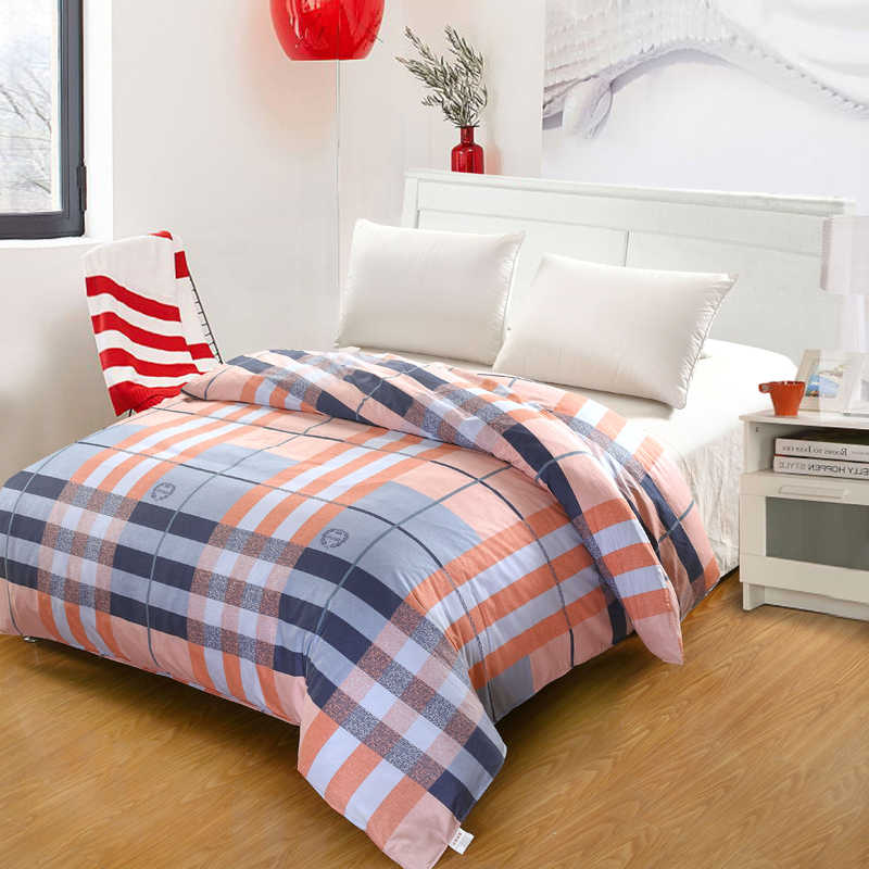 Чистый Хлопковый чехол Серый роскошный Твин Полный Королева Король один двойной супер двуспальное одеяло covet дети Простая кровать мешок одеяло чехлы