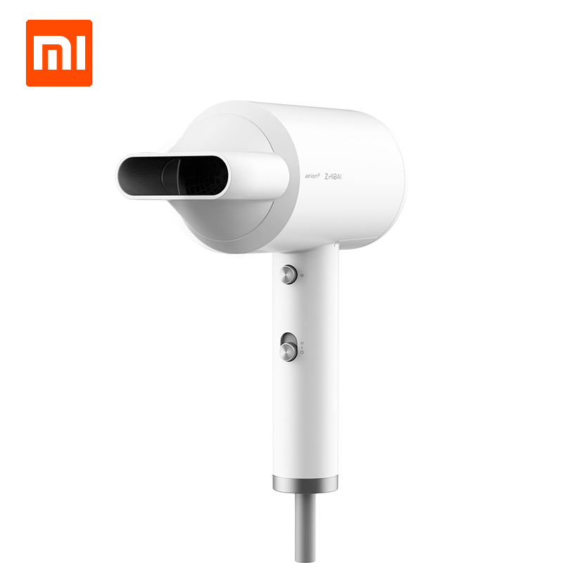 Xiaomi Ecological Chain Products Zhibai Portable Anion HL3 1800W 2 Speed Temperature Mi Blow Dryer For