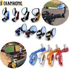 цена на Universal Motorcycle Mirror View Side Rear Mirror 7/8