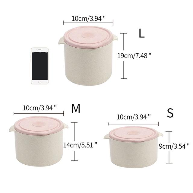 Round Plastic Soup Box