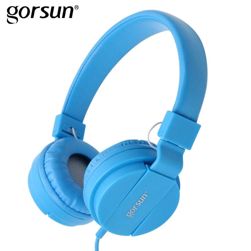 GORSUN Headphones For Computer PC Sport Noise Canceling Headphone ...