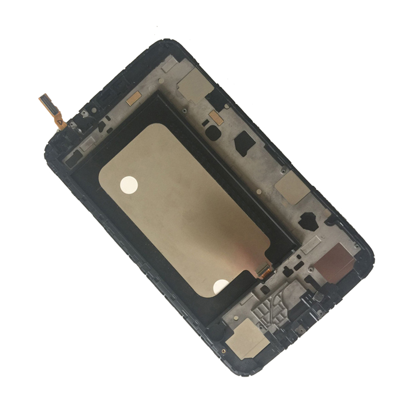 White For Samsung Galaxy Tab 3 8.0 T310 SM-T310 Touch Screen Digitizer Sensor + LCD Display Panel Monitor Assembly with Frame