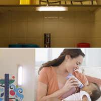 Алюминиевый сплав COB шкаф свет с магнитом для кемпинга шкаф спальня JDH99