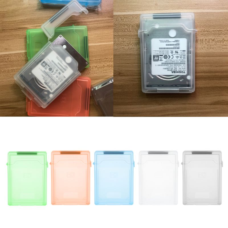 New 2.5 inch IDE SATA HDD Hard Disk Drive Protection Storage Box Protective Cover