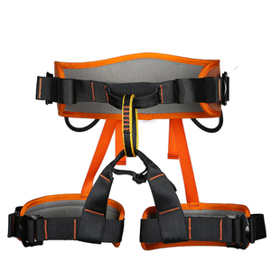 Image 4 - XINDA Camping Safety Belt Rock Climbing Outdoor Expand Training Half Body Harness Protective Supplies Survival Equipment